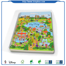 Customize Spiral Binding Colorful School Exercise Book