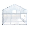 Walk in Garden Mini Polytunnel Greenhouse