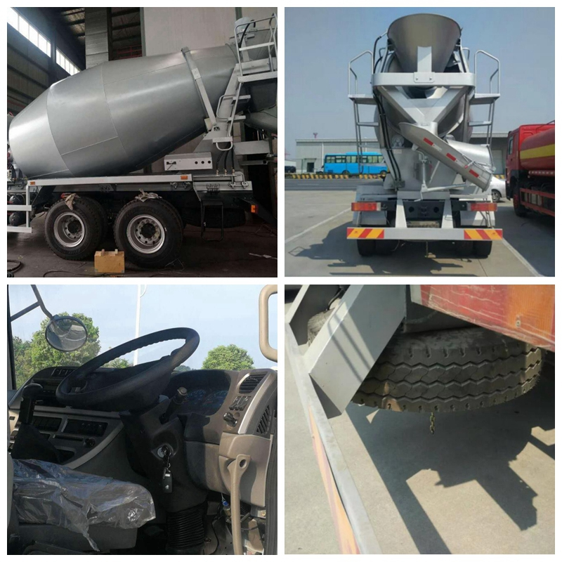 concrete mixer truck detail