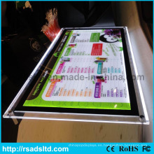 Caja de luz de cristal LED Super Bright Thin