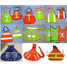 EN471 green reflective safety vest