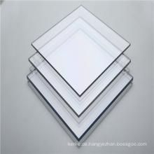 Hot Sales 3mm solide transparente Polycarbonatplatte