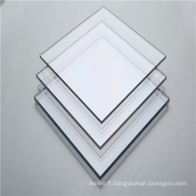Panneau en polycarbonate transparent solide de 3 mm de ventes chaudes