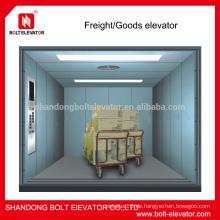 Zwei Paneelseitenöffnung Frachtgut Aufzug Aufzug