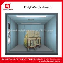 Лифтовой подъемник грузовой платформы с двумя боковыми панелями