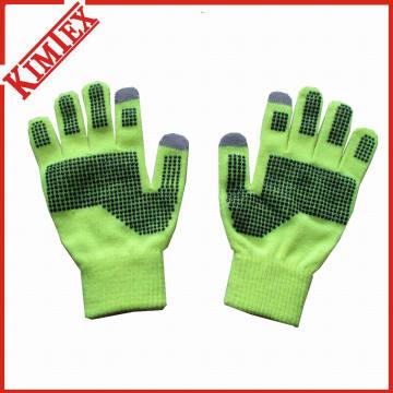 Acryl-Anti-Rutsch-DOT-Druck mit Touchscreen-Handschuh