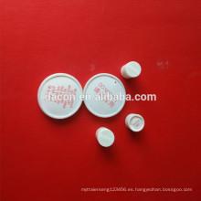 gel de sílice embalaje cilíndrico