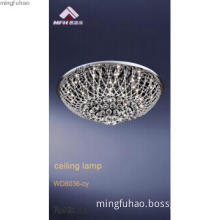 Classical style unique crystal ceiling lamp for hotel