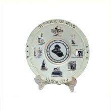 Art utilisation de bonne qualité souvenir plaque souvenir cadeau milano
