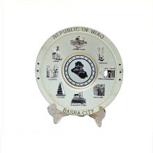 Art use good quality souvenir plate souvenir gift milano