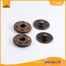 Pressione o botão de pressão do metal para o revestimento BM10047