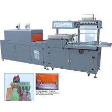 Automatic tea heat shrink packaging machine
