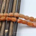 DIY оранжевый винтовой ювелирные изделия Semi драгоценные африканских винтовой Джейд бисер