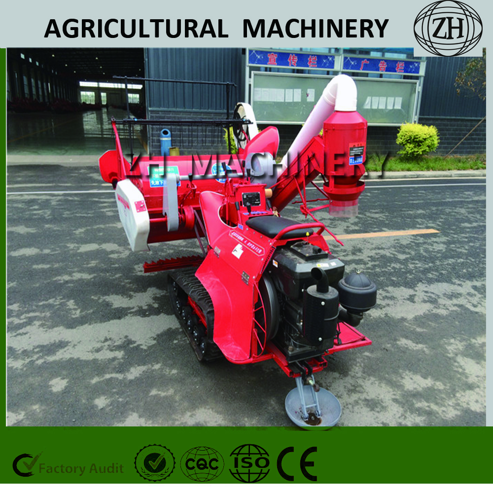 Farmer use Small Rice Harvester for Sale