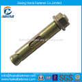 China supplier zinc plated expansion bolt, anchor bolt ,sleeve anchor bolt