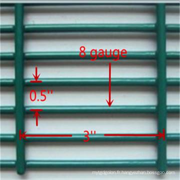 Clôture 358, clôture anti-montée, clôture haute sécurité