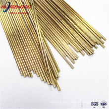 Brass Brazing Rods Manufacturer Direct Copper Welding Round Bar for HVAC Air-condition Refrigeration Heating Soldering Alloys