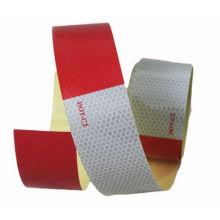 """Точка-С2 2"""" х 10' трейлер заметная точка Светоотражающий красный/белый лента"""