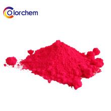 Fluoreszierendes Pigment für den Textildruck