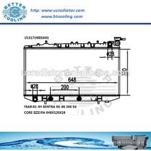 Wasserkühler für Nissan Sentra 91-94 / 200 SX 95-98 OEM: 2141058Y01 2141059Y01