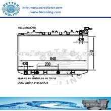 Водяной радиатор для Nissan Sentra 91-94 / 200 SX 95-98 OEM: 2141058Y01 2141059Y01