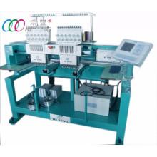 Machine de broderie à deux têtes tubulaire informatisée 12 Needle, 110V / 220V