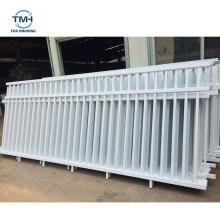 Simple Design Cheap Wholesale Zinc Steel Portable Metal Garden Fence