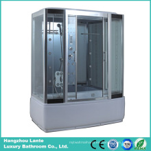 Cabina rectangular de la ducha del vapor con la radio de FM (LTS-8915A)