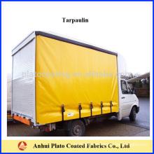 Tela de lona de lona de cortina de camión de alta calidad fabricados en China
