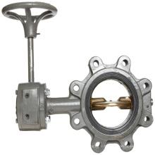 Main en aluminium de valve de main d'OEM en métal