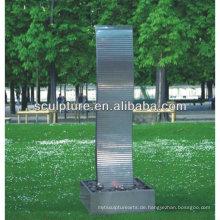 Shengfa-Park Edelstahl Kunst Skulptur / Metall Brunnen