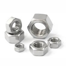 A2 70 Stainless Steel DIN934 M5 M6 M8 M10 M12 M14 M16 M18 M20 M22 M24 M27 M30 Fine Thread Pitch Hex Nut