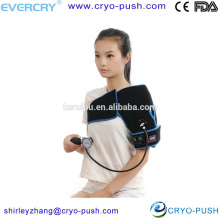 soporte de envoltura de hombro de compresión inflable reutilizable