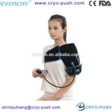 support d'enveloppement d'épaule de compression gonflable réutilisable