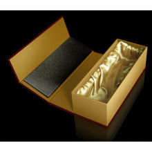 Caja de empaquetado de papel de cartón fino de diseño personalizado