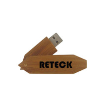 Wood Swivel Pen Drive Customized USB Memory Stick