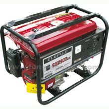 Elefuji 2.5kVA Conjunto de gerador de motor de gasolina de fio de cobre