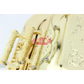 Stainless Steel Gold Plating Serving Tray (FT-0630)