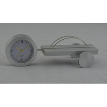 Reloj de regalo de escritorio de aluminio (DZ38)