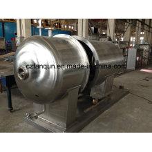 Secador de vacío de acero inoxidable para productos químicos y alimenticios