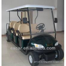 EXCAR 8 plazas carrito de golf eléctrico carrito de golf carrito de golf coche de china carro de golf para la venta