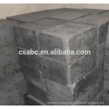 bloque de grafito del cepillo de carbón