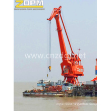 Luffing Four Jib Portal Crane Offshore Lifting Device