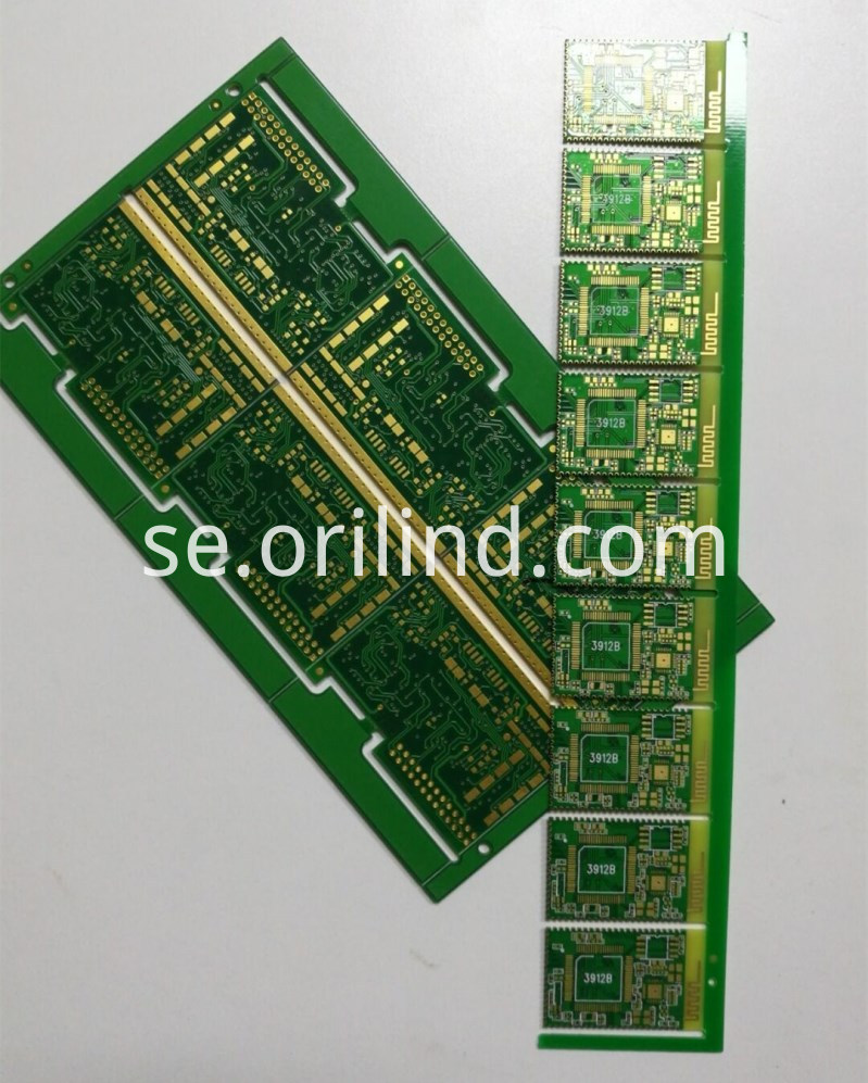 Semi-hole PCB Board