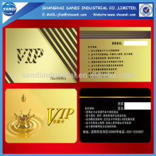 Plastic Magnetic Stripe Cards with printing