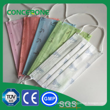 Printed Disposable Surgical Face Mask