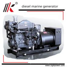 80kw 100kva CCS BV ABS aprobó los generadores diesel marinos de mitsubishi con el motor diesel marino