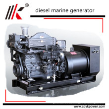 80kw 100kva CCS BV ABS approved mitsubishi marine diesel generators with marine diesel engine