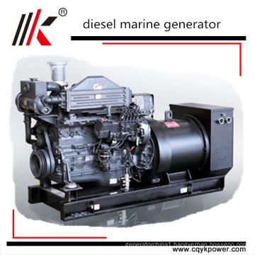 80kw 100kva CCS BV ABS approved mitsubishi marine diesel generators with marine diesel engine
