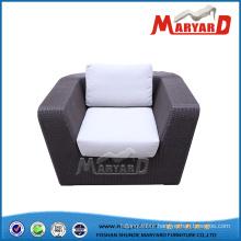 Rattan Single Sofa, Rattan Deep Chair, Garden Chair
